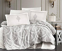Комплект постельного белья Aran Clasy сатин размер евро Kaldera V1