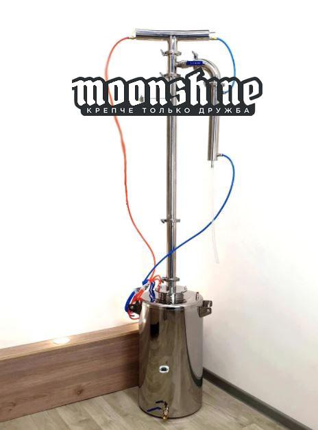 Ректификационная колонна Moonshine Прима Тора  фланец 2 с баком 60 литров