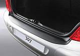 Пластикова захисна накладка на задній бампер для Peugeot 307 3/5 dr hatch 2001-2009, фото 4
