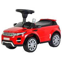 Детская машинка каталка-толокар Range Rover красный