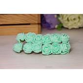 Розы 2,0 см , тиффани        144 шт