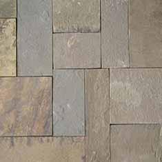 Песчаник дорожка прямоугольная с обработанной кромкой