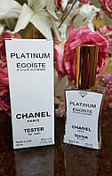 Мужской тестер Chanel Platinum Egoiste 45 мл реплика