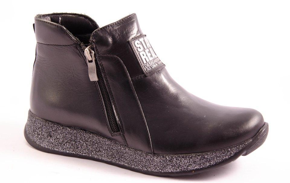 Ботинки женские черные Vesna 2602