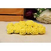 Розы 2,0 см , желтые         144 шт