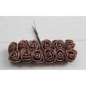 Розы 2,0 см , какао        144 шт