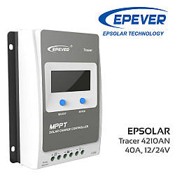 Контролер Tracer-4210A, MPPT 40А 12/24В Epsolar