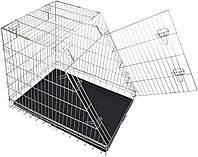 Клетка для собак в авто Croci 92*63*72 см. Металлическая (оцинковка) 1 дверь