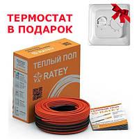 Нагрівальний кабель Ratey RD2 200 Вт, 11 м, 1.1-1.4 м2, фото 1