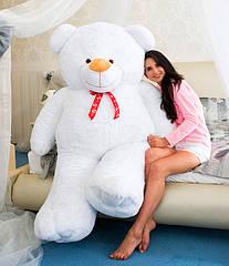 """Плюшевый медведь """"Вениамин"""" 200 см белый"""