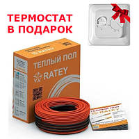 Нагревательный кабель Ratey RD2 1670 Вт, 92 м. 9.6-12 м2, фото 1