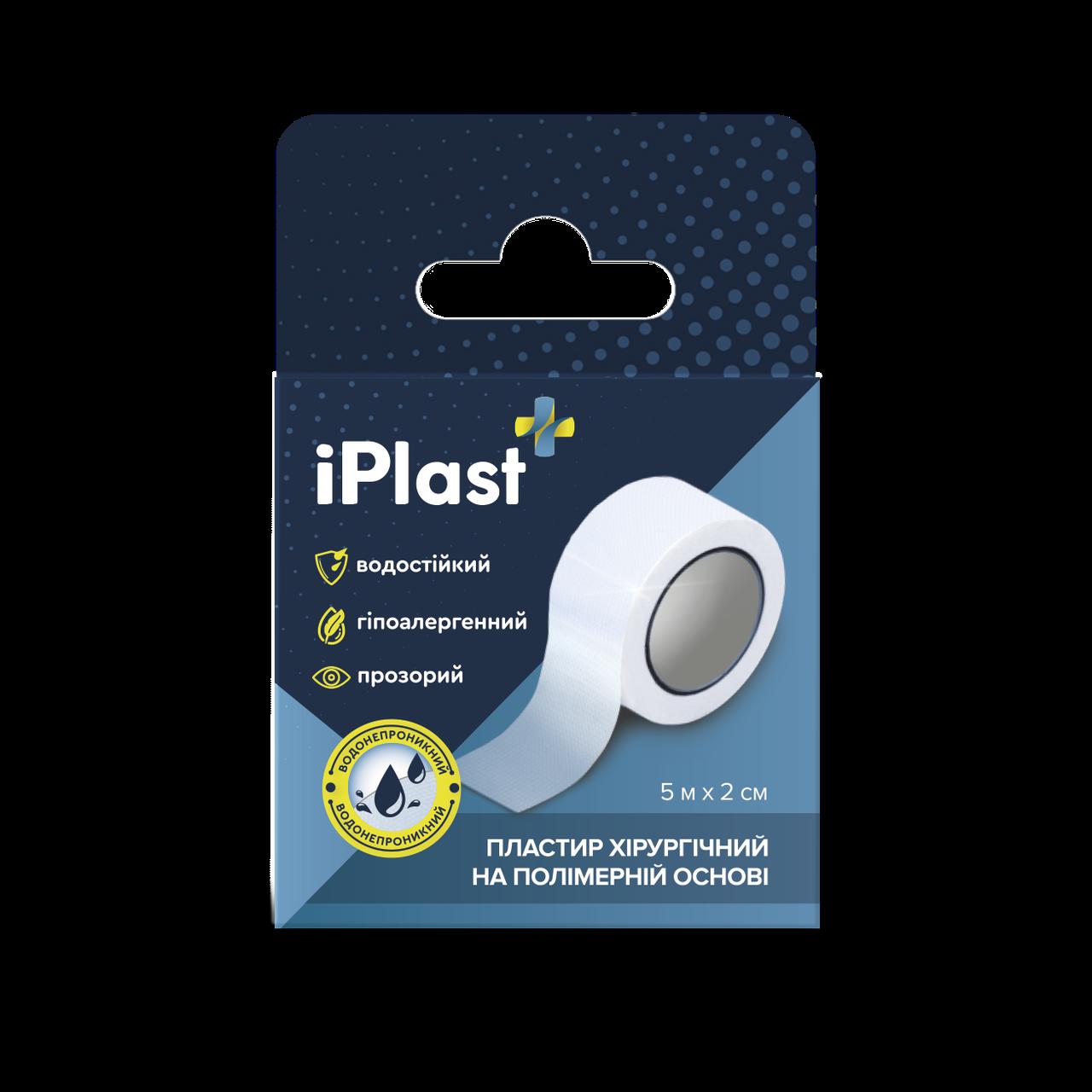 Пластырь Хирургический на полимерной основе, в катушке IPlast (Dr.Frei) (5м х 2см)