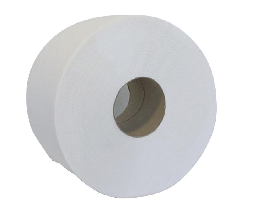 """Туалетний папір """"Buroclean.Джамбо"""" на гільзі,сірий №10100051 9 см 130 м"""