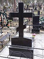 Гранитные кресты - надгробия на могилу (памятник с крестом из гранита)
