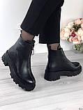 Женские зимние ботинки с молнией впереди, фото 6