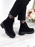 Женские зимние ботинки с молнией впереди, фото 7
