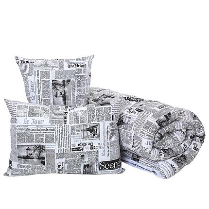 Комплект ковдра і подушка Homefort «Дует Ньюс», фото 2
