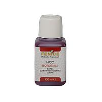 Краска для кожи Бордо Fenice HCC Bordeaux, 100 ml