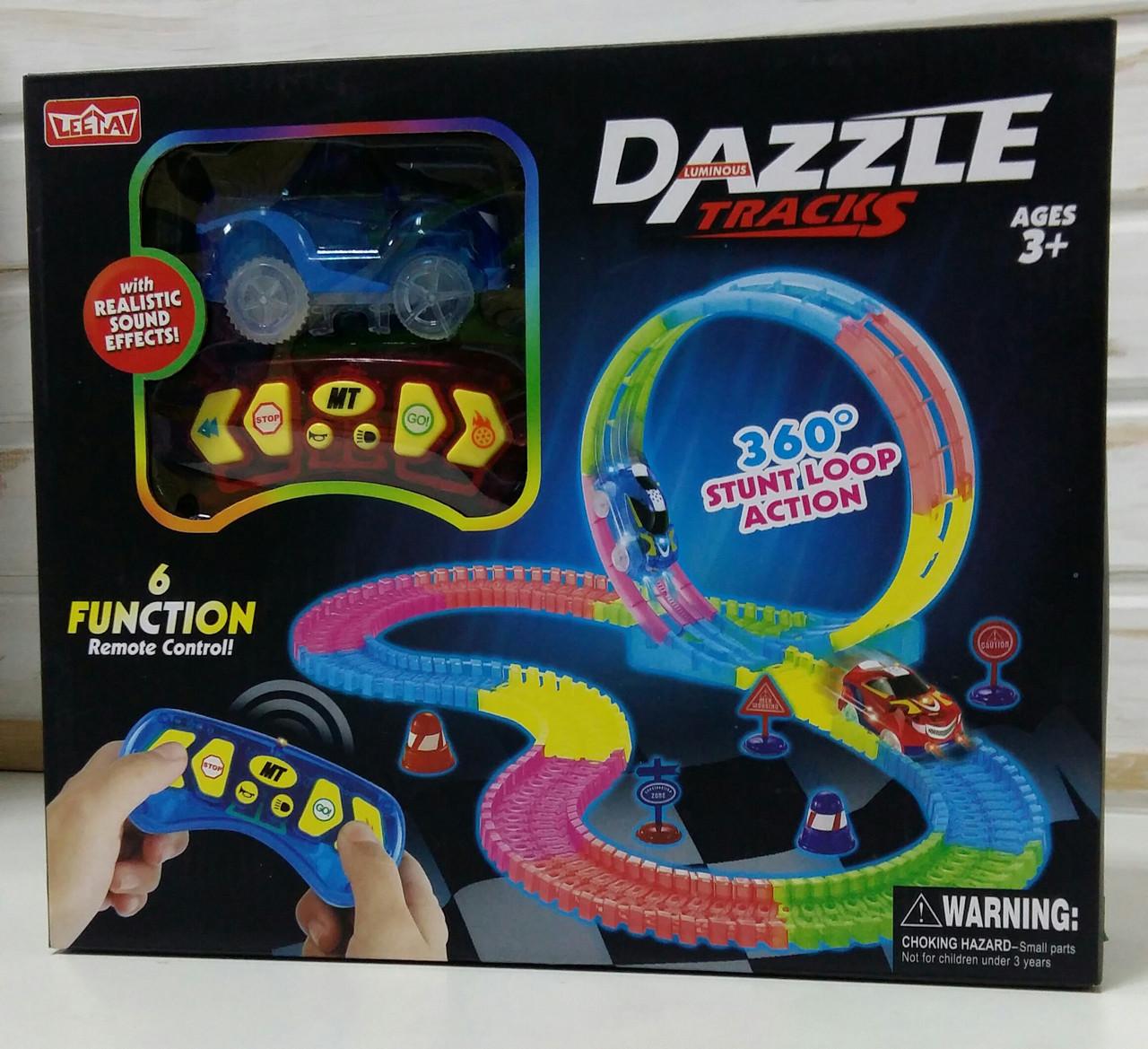 Гоночный автотрек Dazzle Tracks Magic Track на радиоуправлении Dazzle Tracks 136М
