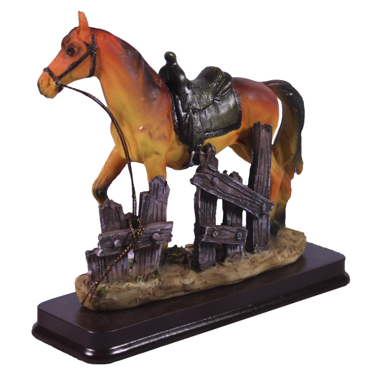 Подарочная статуэтка Конь рыжий, 15 см