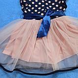 Модное нарядное красивое платье для девочки с пышной юбкой., фото 2