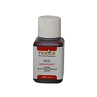 Фарба для шкіри Махонь Fenice Mahogane HCC, 100 ml, фото 1