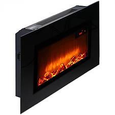 Электрический камин, черный, 1500-1800 Вт, фото 2