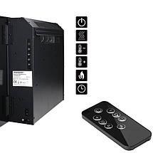 Электрический камин, черный, 1500-1800 Вт, фото 3
