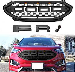 Решетка радиатора Ford Edge (19-20) тюнинг стиль Raptor