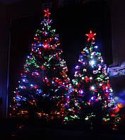 Светящиеся светодиодные оптоволоконные елки 60-300 см