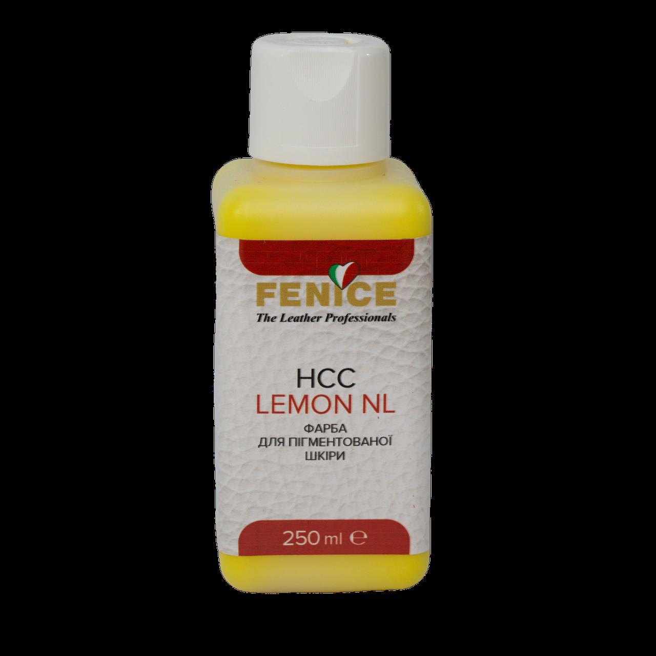Краска для кожи Лимонная Fenice Lemon HCC, 250 ml