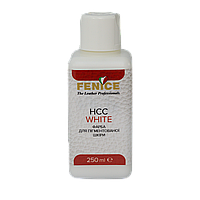 Краска для кожи Белая Fenice White HCC, 250 ml, фото 1