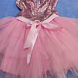 Нарядное красивое платье для девочки с пышной юбкой., фото 2