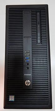 Системный блок б.у игровой HP EliteDesk 800 G2 TWRI5-6500/ 8Гб ОЗУ DDR4/ RX 550 2Gb /DVD-RWSuperMulti