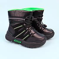 Чорні чоботи дутики для хлопчика тм Тому.м розмір 27,28,29,30, фото 1