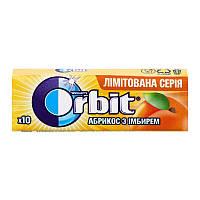 Жувальна гумка Orbit абрикос з імбирем 14г (1*30/20)