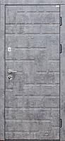 Дверь входная Форт Нокс серия АКЦЕНТ New Мрамор темный \ Бетон снежный /КИРПИЧИК