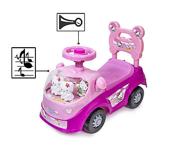 Каталка-толокар Hello Kitty РОЗОВЫЙ