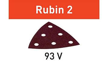Шлифовальный лист Rubin 2 STF V93/6 P80 RU2/50