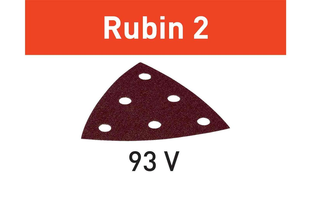Шлифовальный лист Rubin 2 STF V93/6 P100 RU2/50