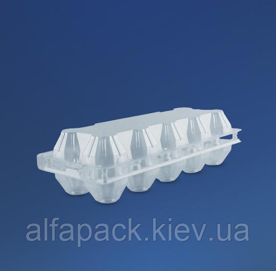 Пластиковая упаковка для яиц 10шт, ПС-3610, 100 шт,