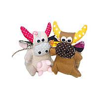 Іграшка підвіска пара бичків Леся і Рома, фото 1