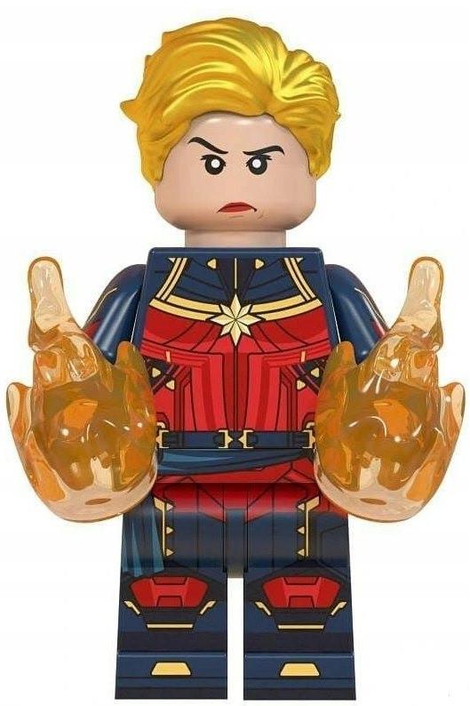 Капитан Марвел Мстители Супергерой Марвел Аналог лего