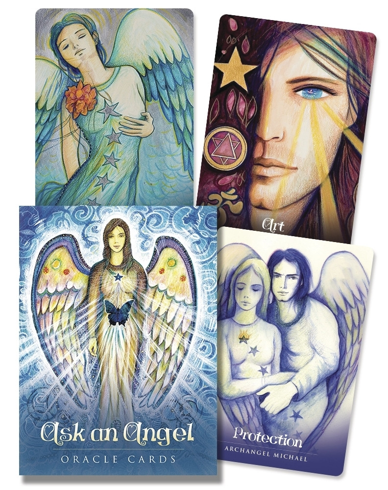 Ask an Angel Oracle Cards/ Оракул Спросите Ангела