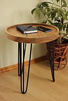 Стол круглый кофейный 43 см.