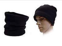 Зимний бафф флис шарф-труба или шапка (#585)