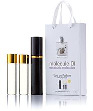 Подарочный парфюмерный набор с феромонами унисекс Escentric Molecules Molecule 01 (Эксцентрик Молекула 01) 3x1