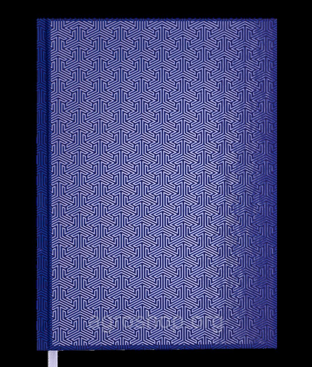 Щоденник датов. 2021 VELVET, A5, синій