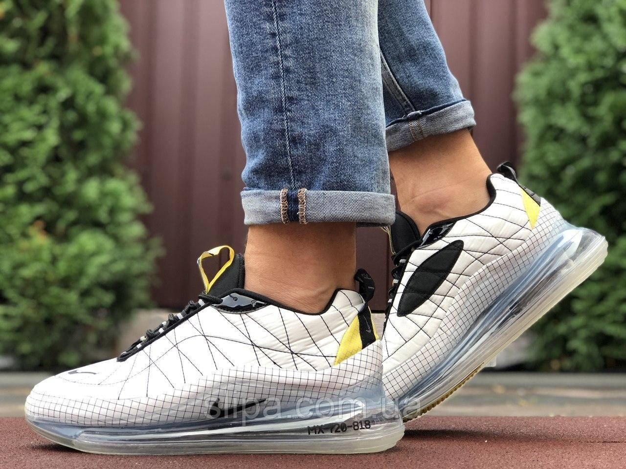Мужские кроссовки Nike Air Max 720 белые (термо)