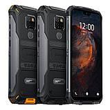 Смартфон водозащищенный, ударопрочный с большим дисплеем и отпечатком пальца Doogee S68 Pro black 6/128, фото 2